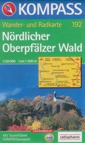Nrdlicher Oberpfälzer Wald - mapa Kompass č.192 - 1:50 000 /Německo/