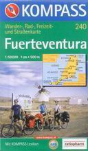Fuerteventura - mapa Kompass č.240- 1:50t