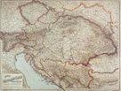 Rakousko-Uhersko - 1:1 500 000 - nástěnná mapa