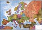 Evropa obří- politické rozdělení - 1:3,2 mil - nástěnná mapa
