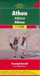 Athény - plán Freytag - 1:15t /Řecko/