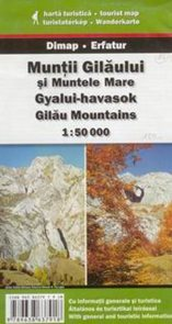 Rumunsko - Muntii Gilaului si Muntele Mare - mapa DiM17 - 1:50t