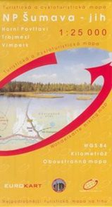 NP Šumava - jih - mapa GoL - 1:25t