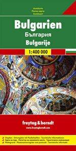 Bulharsko - mapa Freytag&Berndt - 1:400t