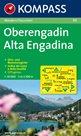 Oberengadin - mapa Kompass č.99 - 1:50t /Švýcarsko,Itálie/