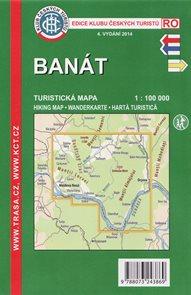 Rumunsko - Banát - mapa KČT 1:100