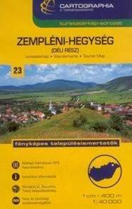 Maďarsko - Zempleni -jih- mapa CB23 - 1:40