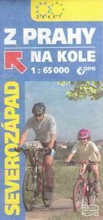 Z Prahy na kole - severozápad - cyklomapa Žaket - 1:65 000