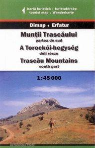 Rumunsko - Muntii Trascaului /jih/ - mapa DiM10 - 1:45 000