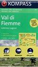 Val di Fiemme, Latemar, Lagorai - mapa Kompass č.79 - 1:50t /Itálie/
