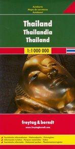Thajsko - mapa 1:1m