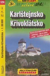 Karlštejnsko, Křivoklátsko - cyklo SH124 - 1:60
