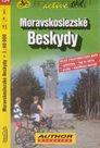 Moravskoslezské Beskydy - cyklo SH154 - 1:60t