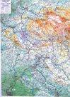 Jizerské hory, Český ráj - reliéfní nástěnná mapa - 1:66 000