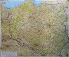 Polsko -Freytag- 1:750 000 - nástěnná mapa