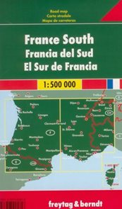 Francie -jih- mapa Freytag&Berndt 1:500t