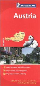 Rakousko - mapa Michelin730 1:400t