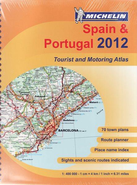 Španělsko, Portugalsko - atlas Michelin 1:400t - A4