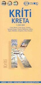 Kréta - mapa Borch - 1:200 000 /Řecko/
