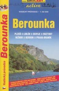 Berounka - vodácký průvodce /Plzeň--Praha-Braník/ - 1:50t