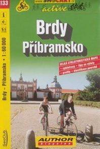 Brdy - Příbramsko - cyklo SH133 - 1:60t