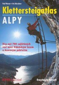 Alpy - Klettersteigatlas - průvodce FreytagBerndt