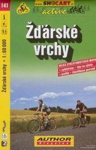 Žďárské vrchy - cyklo SHc141 - 1:60t