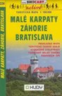 Malé Karpaty, Záhorie, Bratislava - mapa SHc224 - 1:100t /Slovensko/