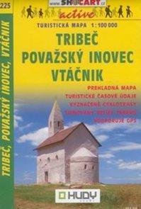 Tribeč, Považský Inovec, Vtáčnik - mapa SHc225 - 1:100t /Slovensko/
