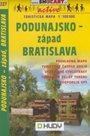 Podunajsko - západ - mapa SHc227 - 1:100t /Slovensko/