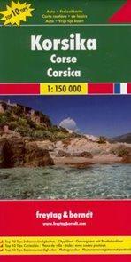 Korsika - mapa Freytag&Berndt - 1:150t