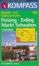 Freising, Erding, Markt Schwaben - mapa Kompass č.183 - 1:50t /Německo/