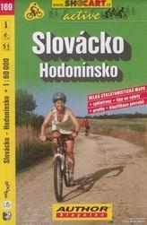 Slovácko - Hodonínsko - cyklo SHc169 - 1:60 000