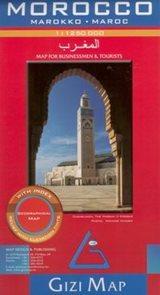 Maroko - mapa Gizi 1:1,25m