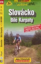 Slovácko, Bílé Karpaty - cyklo SHc170 - 1:60t