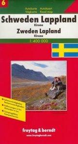 Švédsko -6- Laponsko - mapa Freytag - 1:400 000