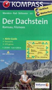Dachstein, Ramsau, Filzmoos - mapa Kompass č.031 - 1:25 000 /Rakousko/