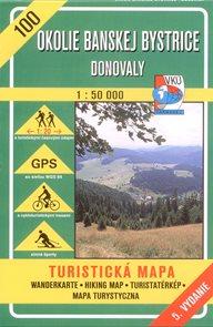 Okolie Banskej Bystrice - mapa VKÚ č.100 - 1:50 000 /Slovensko/