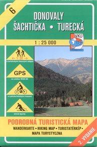 Donovaly, Šachtička, Turecká  - mapa VKÚ č.6 - 1:25 000 /Slovensko/