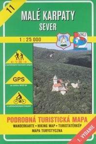 Malé Karpaty - sever - mapa VKÚ č.11 - 1:25 000 /Slovensko/