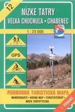 Nízké Tatry - Velká Chochula, Chabenec - mapa VKÚ č.12 - 1:25 000 /Slovensko/