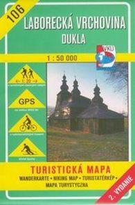 Laborecká vrchovina, Dukla - mapa VKÚ č.106 - 1:50 000 /Slovensko/