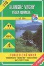 Slanské vrchy, Velká Domaša - mapa VKÚ č. 116 - 1:50 000 /Slovensko/