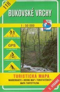 Bukovské vrchy - mapa VKÚ č.118 - 1:50 000 /Slovensko/
