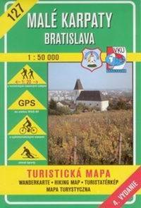 Malé Karpaty - Bratislava - mapa VKÚ č. 127 -1:50 000 /Slovensko/