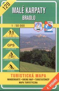 Malé Karpaty - Bradlo - mapa VKÚ č.129 - 1:50 000 /Slovensko/