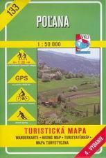 Polana - mapa VKÚ č.133 - 1:50 000 /Slovensko/