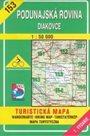 Podunajská rovina, Diakovce - mapa VKÚ č.153 - 1:50 000 /Slovensko/