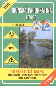 Hronská pahorkatina - Levice - mapa VKÚ č.155 -1:50 000 /Slovensko/