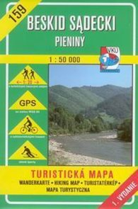 Beskid Sadecki, Pieniny - mapa VKÚ č.159 - 1:50 000 /Slovensko,Polsko/